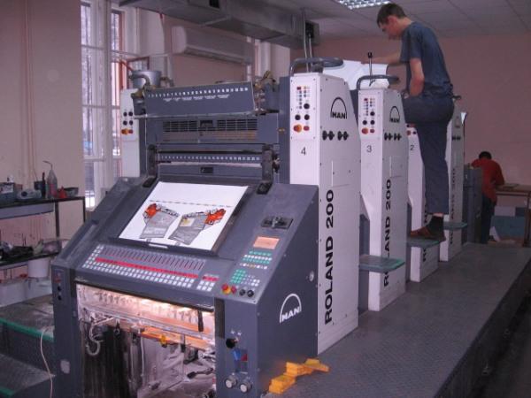 выбор типографии для печати блокнотов